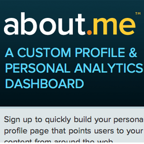 Why About.me was acquired by AOL for millions four days after launch